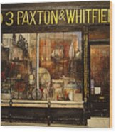 Paxton Whitfield .london Wood Print by Tomas Castano