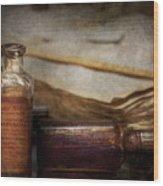Pharmacist - Specific Medicines  Wood Print by Mike Savad