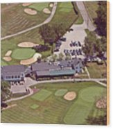 Philadelphia Cricket Club Flourtown Clubhouse 6075 W Valley Green Rd  Flourtown Pa  19031 Wood Print by Duncan Pearson
