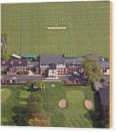 Philadelphia Cricket Club St Martins Wood Print by Duncan Pearson