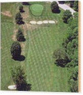 Philadelphia Cricket Club St Martins Golf Course 3rd Hole 415 West Willow Grove Ave Phila Pa 19118 Wood Print by Duncan Pearson