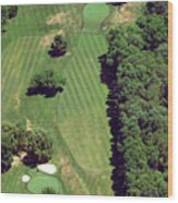 Philadelphia Cricket Club St Martins Golf Course 6th Hole 415 West Willow Grove Ave Phila Pa 191118 Wood Print by Duncan Pearson
