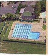 Philadelphia Cricket Club St Martins Pool 415 West Willow Grove Avenue Philadelphia Pa 19118 4195 Wood Print by Duncan Pearson