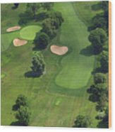 Philadelphia Cricket Club Wissahickon Golf Course 17th Hole Wood Print by Duncan Pearson