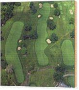 Philadelphia Cricket Club Wissahickon Golf Course 1st Hole Wood Print by Duncan Pearson