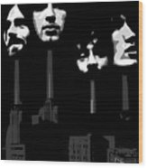 Pink Floyd No.02 Wood Print by Caio Caldas
