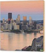 Pittsburgh 16 Wood Print by Emmanuel Panagiotakis