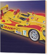 porsche RS Spyder Wood Print by Alain Jamar