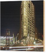 Potsdamer Place II Wood Print by Marc Huebner