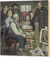 Propaganda Wood Print by Jean Eugene Buland
