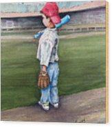 Put Me In Coach  Wood Print by Sam Sidders