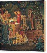 Reason For The Season Wood Print by Greg Olsen