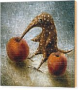 Red Apples Wood Print by Lolita Bronzini