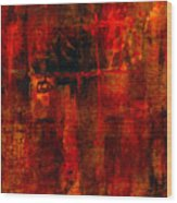 Red Odyssey Wood Print by Pat Saunders-White