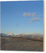 Rocky Mountain High Wood Print by Jim Thomson