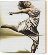 Rubinesque Dancer Wood Print by Richard Young