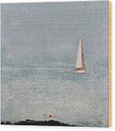 Sail Away Wood Print by Colleen Kammerer
