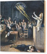 Salem Witch Trial, 1692 Wood Print by Granger