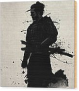 Samurai Wood Print by Nicklas Gustafsson