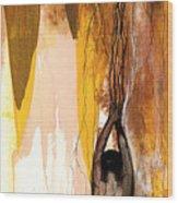 Second Lady Wood Print by Anthony Burks Sr