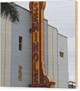 Seminole Theatre 1940 Wood Print by David Lee Thompson