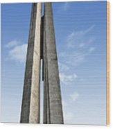 Shanghai - Monument To The People's Heroes Wood Print by Christine Till