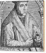 Sir Thomas More (1478-1535) Wood Print by Granger