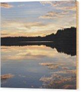 Slice Of Heaven Wood Print by Luke Moore