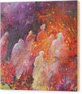 Souls In Hell Wood Print by Miki De Goodaboom