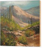Southwest Beauty Wood Print by Robert Carver