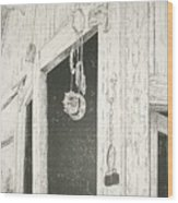 Sox S Watch         Wood Print by Tony Ruggiero