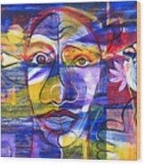 Speak To Me Baby... Wood Print by Rollin Kocsis