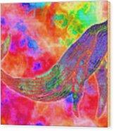 Spirit Whale Wood Print by Nick Gustafson