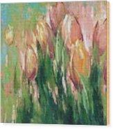 Spring In Unison Wood Print by Anastasija Kraineva