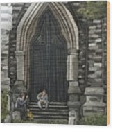 St Georges Parishioners Wood Print by Reb Frost