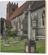 St James The Less Church Wood Print by Andy Smy