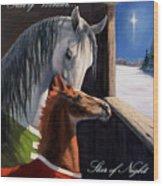 Star Of Wonder Wood Print by Jeanne Newton Schoborg