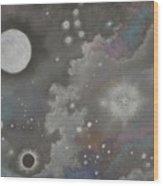 Stardust Wood Print by Janet Hinshaw