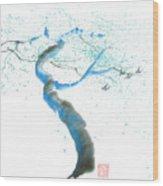 Strong Wind Wood Print by Mui-Joo Wee