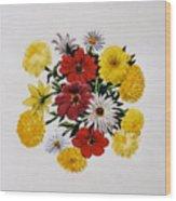 Summer Bouquet Wood Print by Dy Witt