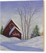 Sun Valley 1 Wood Print by Shannon Grissom