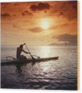 Tahiti, Papeete Wood Print by Joe Carini - Printscapes