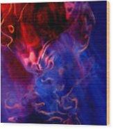 Taurus Wood Print by Terril Heilman