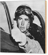 Ted Williams 1918-2002, American Wood Print by Everett