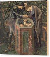 The Baleful Head Wood Print by Sir Edward Burne-Jones
