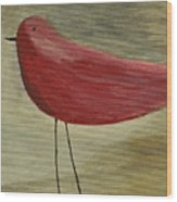 The Bird - Original Wood Print by Variance Collections