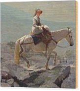 The Bridal Path Wood Print by Winslow Homer