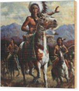 The Chief Wood Print by Harvie Brown