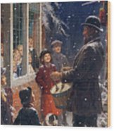 The Entertainer  Wood Print by Percy Tarrant