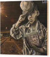 The Essence Of The Streets Wood Print by Tuan HollaBack